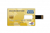 GoodRAM	GOODDRIVE Gold USB Credit Card (32Gb)